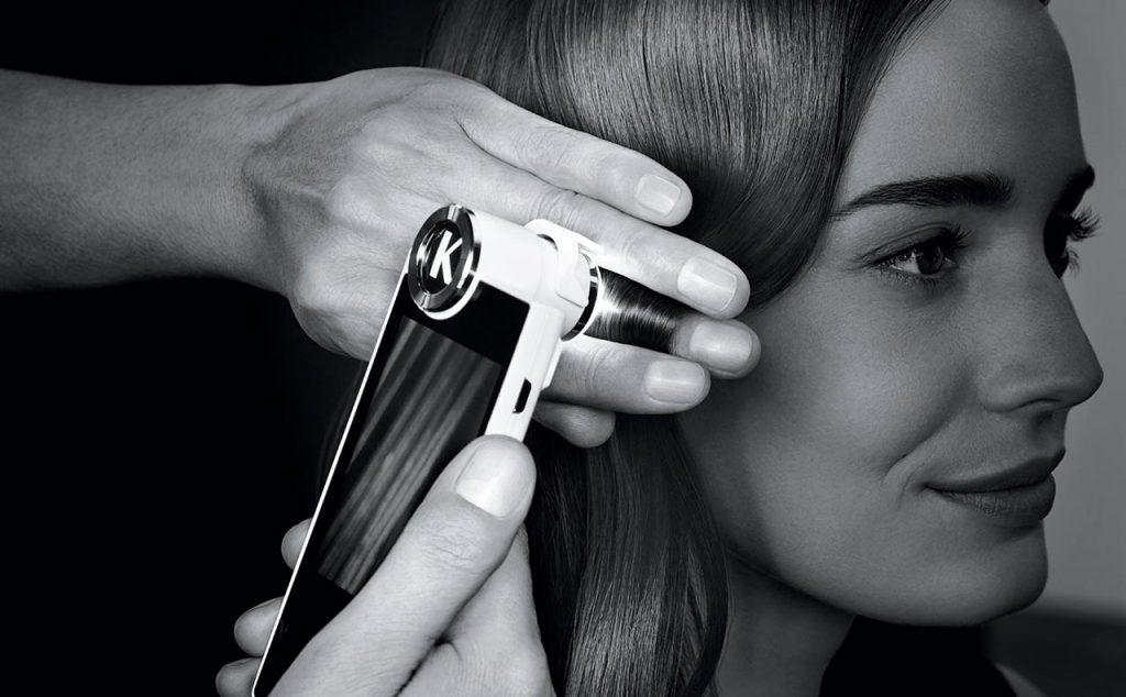 Kerastase Camera sta kommotiria Touch Hair Salloon