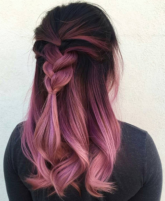 Colour Melting sta kommotiria Touch Hair Salloon Larisa