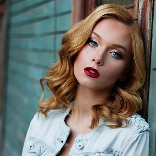 Γυναικείο Κούρεμα μεσαίου μήκους στα Touch Hair Salloon κομμωτήρια Λάρισα