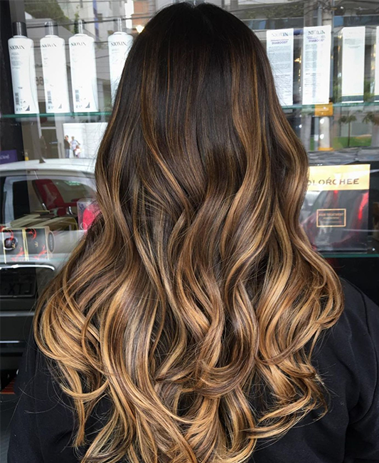 Ombre Touch Hair Salloon