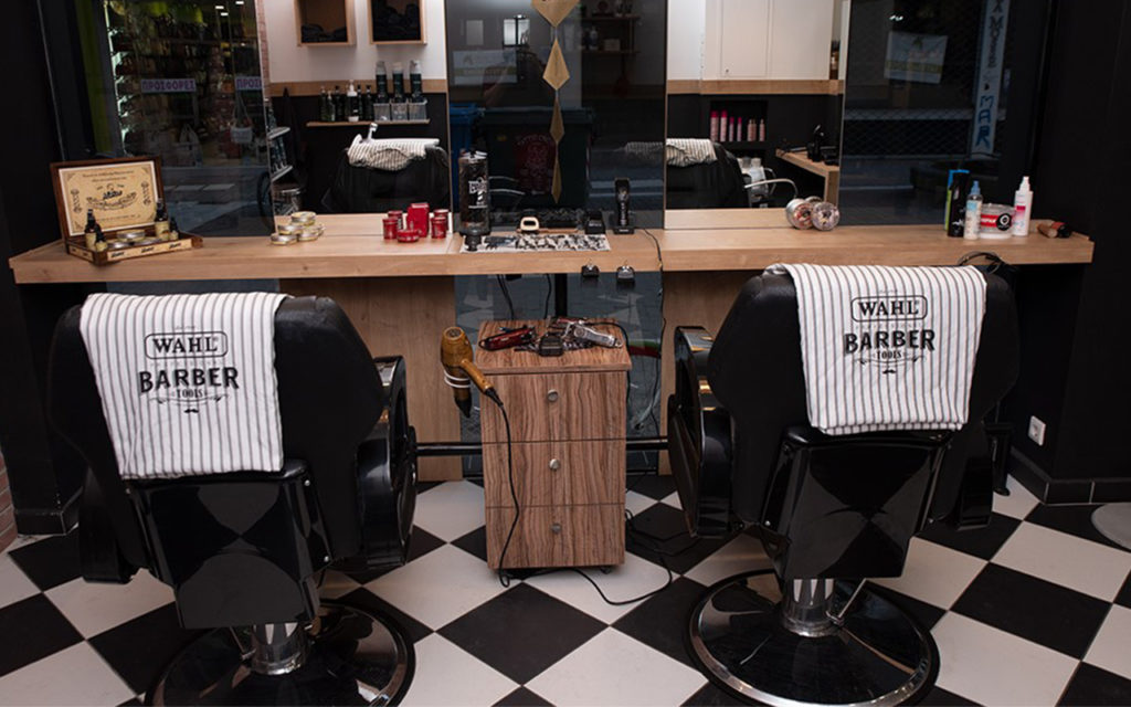 Barber Larisa sta Touch Hair Salloon