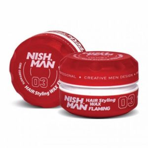 Nishman aqua hair wax flamming 150ml e-shop Touch Hair Salloon