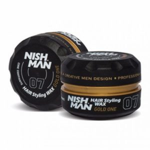 Nish man aqua hair wax gold one e-shop touch hair salloon kommotiria larisa