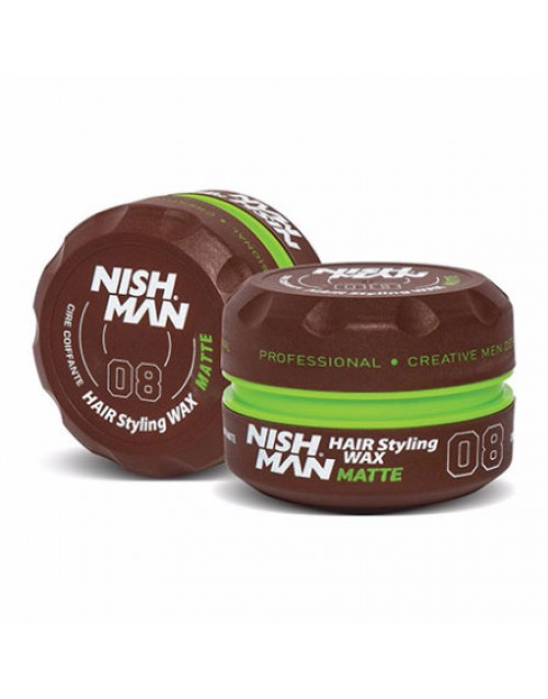 NISHMAN-Aqua-Hair-Wax-MATTE-LOOK-150-ML-440×440-500×638
