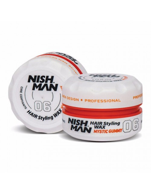 NISH MAN HAIR WAX MYSTIC GUMMY 150ML TOUCH HAIR SALLOON E-SHOP
