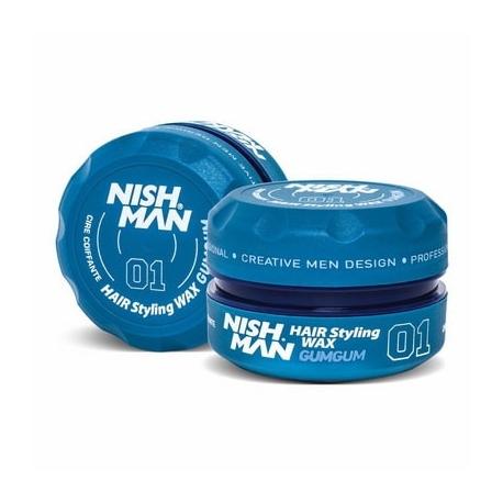 nish man hair wax gumgum touch hair salloon kommotiria larisas e-shop